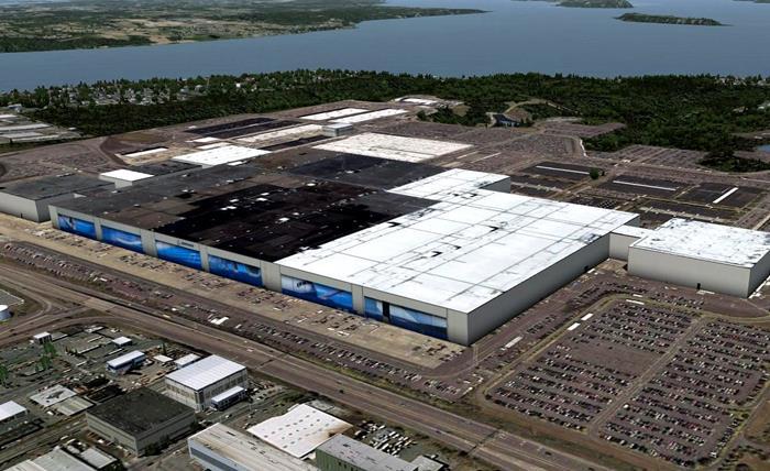 Boeing Everett Gyár